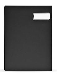 FIS PP Material Cover Signature Book, 240 x 340mm, 20 Sheets, FSCL20PPBK, Black