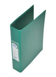 FIS PP 2 Ring Binder, A5 Size, 25mm, Green