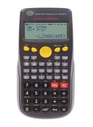 FIS 12-Digit Scientific Calculator, FSCACB-987E, Black/Grey