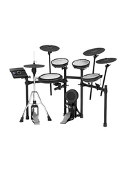 Roland TD-17KVX + MDS-COM Electronic Drum Kit, Develop Stick Control and Correct Playing Technique, Black