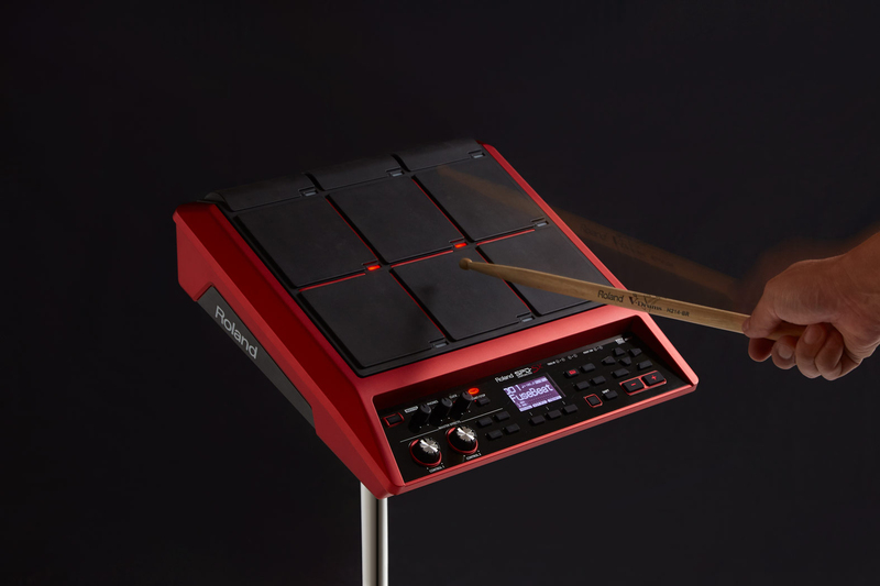 Roland SPD-SX Special Edition Sampling Electronic Drum Pad, Red