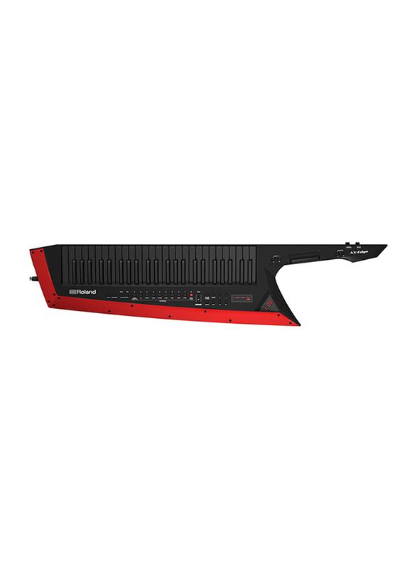 Roland AX-EDGE-W Digital Keytar, 49 Keys, Black