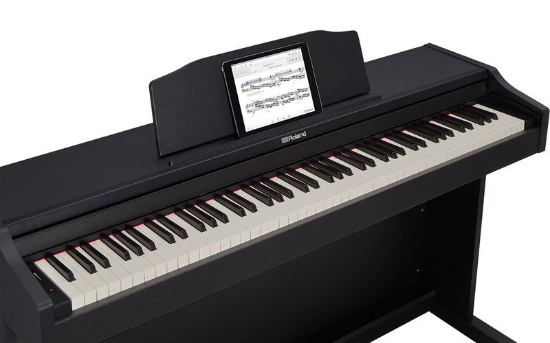 Roland RP-102 Digital Piano with Stand, 88 Keys, Black