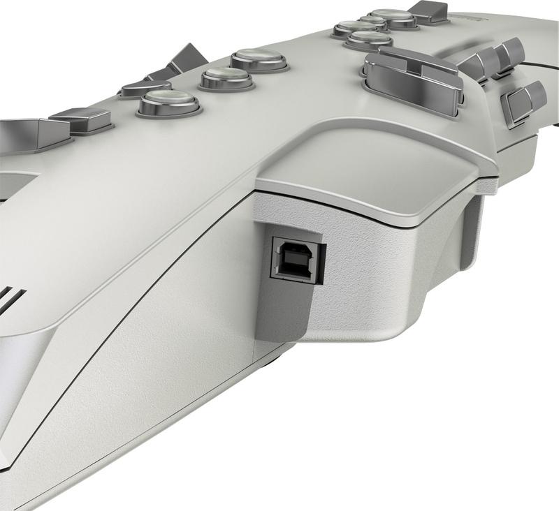 Roland AE-10 Aerophone Wind Instrument, Silver