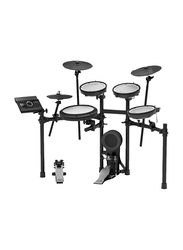 Roland TD-17KV+MDS-COM Electronic Drum Kit, Develop Stick Control and Correct Playing Technique, Black