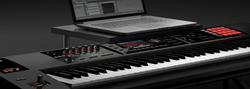 Roland FA-07 Music Workstation Portable Keyboard, 76 Keys, Black