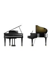 Roland GP609-PE Home Digital Grand Piano, 88 Keys, Polished Ebony