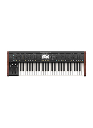 Behringer DeepMind 12 True Analog 12-Voice Polyphonic Synthesizer, Black/Red