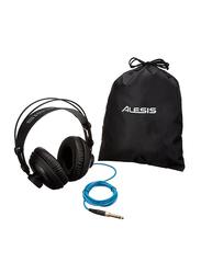 Alesis SRP100 3.5 mm Jack Over-Ear Headphones, Black