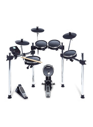Alesis Surge Mesh Kit with 8-Piece Electronic Drum Kit with Mesh Heads, Black
