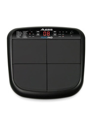 Alesis PercPad Compact Four-Pad Percussion Instrument, Black