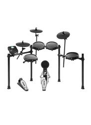 Alesis Nitro Mesh Kit with 8-Piece Electronic Drum Kit & Mesh Heads, Black