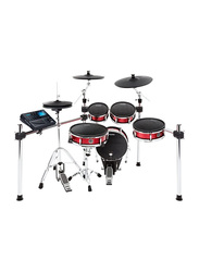Alesis Strike Kit with 8-Piece Professional Electronic Drum Set with Mesh Heads, Black
