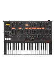 Behringer Odyssey Analog Synthesizer with 37 Full-Size Keys, Dual VCOs, 3-Way Multi-Mode VCFs, 32-Step Sequencer, Arpeggiator & Klark Teknik FX, Black