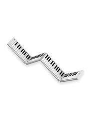 Blackstar BA203010 Carry On Folding Piano & Midi Controller, 88 Keys, White/Black
