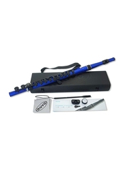 Nuvo N230SFBB Student Flute, Black/Blue