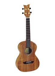 Ortega RUACA-TE Timber Series Acacia Tenor Size Ukulele with Guitar Bag, Tecwood Fingerboard, Brown