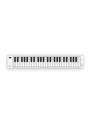Blackstar BA203012 Carry On Folding Piano & Midi Controller, 49 Keys, White/Black