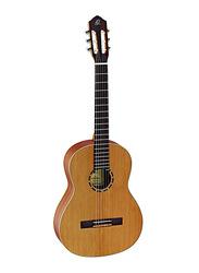 Ortega R122 4/4 Family Classic Guitar with Bag, Walnut Fingerboard, Natural