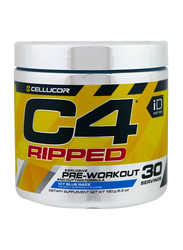 Cellucor C4 Ripped Pre-workout, 180g, Ice Blue Razz
