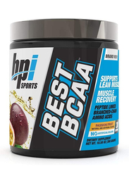 BPI Sports Best BCAA Muscle Recovery Supplement, 300g, Passion Fruit