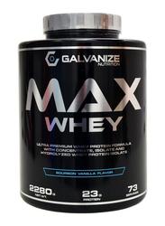 Galvanize Max Whey, 2280g, Bourbon Vanilla