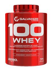Galvanize 100 Whey Powder, 2300g, Strawberry Cream