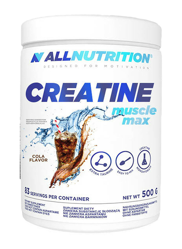 All Nutrition Creatine Muscle Max, 500g, Cola