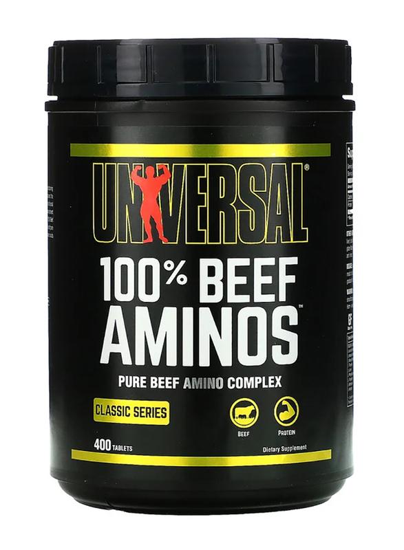 Universal 100% Beef Aminos, 400 Tablets, Regular