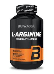 Biotech USA L-arginine Food Supplement, 90 Capsules, Regular