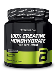 Biotech USA 100% Creatine Monohydrate, 300g, Regular