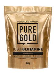 Pure Gold 100% Glutamine, 500g, Unflavoured