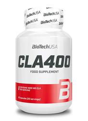 Biotech USA CLA 400 Food Supplement, 80 Capsules, Regular