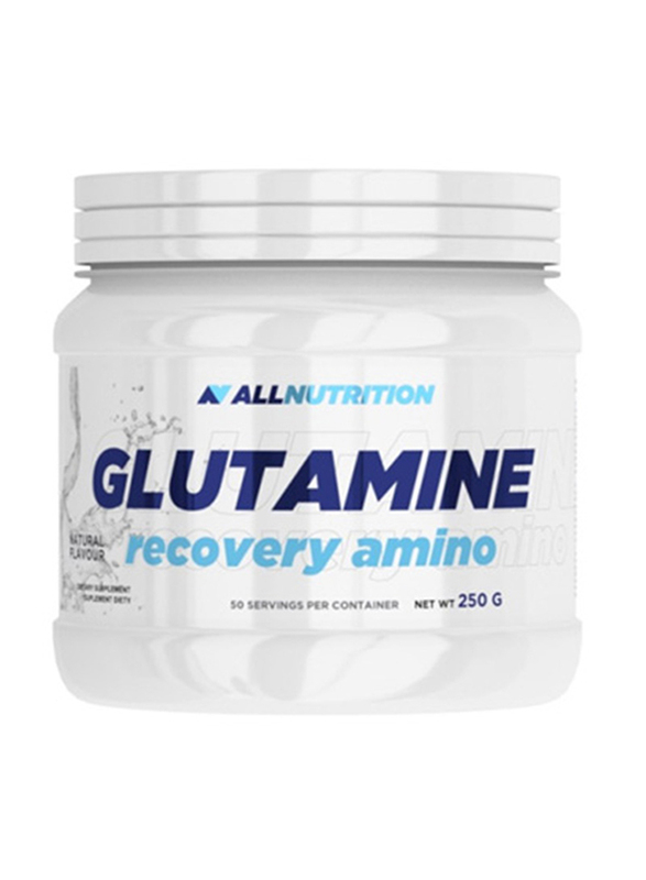 All Nutrition Glutamine Recovery Amino, 250g, Natural