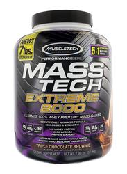 Muscle Tech Mass Tech Extreme 2000, 3.18 Kg, Triple Chocolate Brownie
