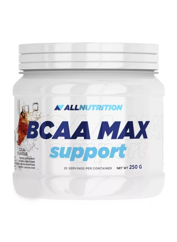 All Nutrition BCCA Max Support, 250g, Cola
