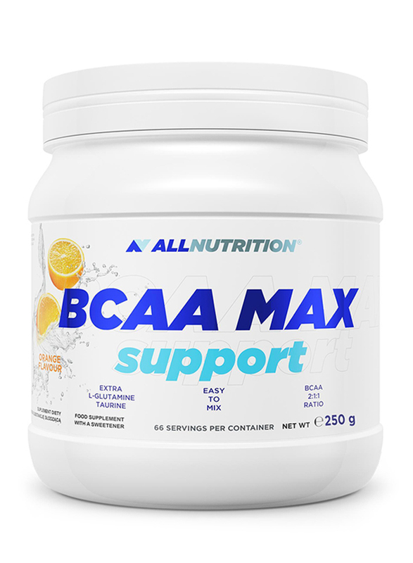 All Nutrition BCCA Max Support, 250g, Lemon