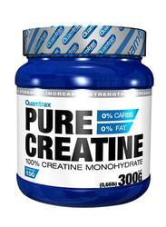 Quamtrax Pure 100% Creatine Monohydrate, 300g, Regular