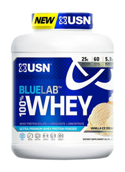 USN 100% Ultra Premiun Whey Protien Powder, 4.13 Lbs, Vanilla Ice Cream