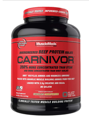 Muscle Meds Carnivor Beef Protein Isolate, 4.4 Lbs, Chocolate Peanut Butter