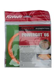 Ashaway Power Gut 66 Badminton String, 0.66mm, Orange