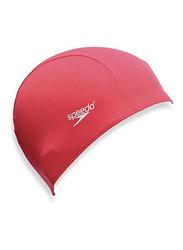 Speedo Polyester Cap, 8710080000, Size 1, Red