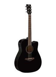 Yamaha FGX800C Electro Acoustic Guitar, Rosewood Fingerboard, Black