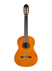 Yamaha C40 Classical Guitar with Volume and Tone Knobs, Rosewood Fingerboard, Brown