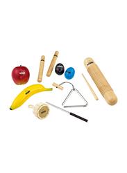Nino NINOSET4 Percussion Assortment Shaker Set, Multicolor