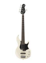 Yamaha BB235VW Electric Bass Guitar, Rosewood Fingerboard, White