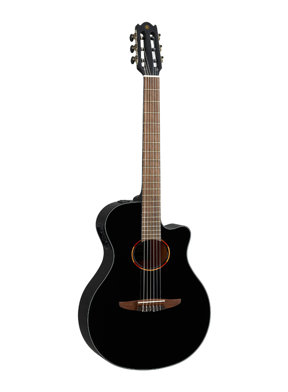 Yamaha NTX1 Acoustic Electric Guitar, Walnut Fingerboard, Black