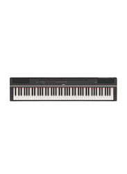 Yamaha P125 Weighted Digital Piano, Stereophonic Optimizer, 88 Keys, Black