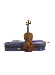 Stentor Student Standard Violin, Outfit 1 3/4, Blackened Hardwood Fingerboard, Brown