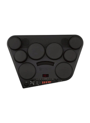 Yamaha DD-75 Portable Digital Drums with 8 Touch-Sensitive Drum Pads, 570 Voices, Headphone and AUX in jack, Black